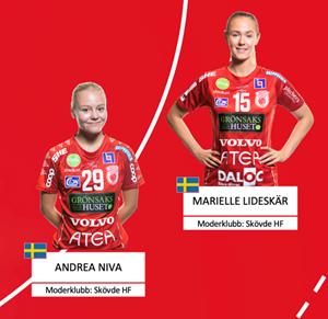 H6 Marielle Lideskär Andrea Niva
